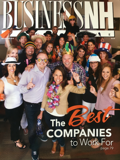 Digital Prospectors featured on the cover of Business NH Magazine.